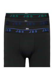 JBS tights 3-pack - SVART