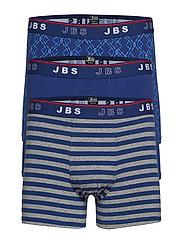 JBS 3-pack tights - NAVY AOP
