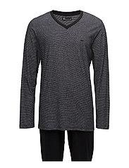 JBS pajamas, jersey - BLACK
