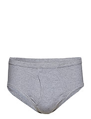 JBS brief, with fly, original - GREY MEL