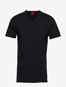 Basic v-neck tee - black