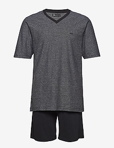 JBS pyjamas t-shirt and shorts - pyjamas - black