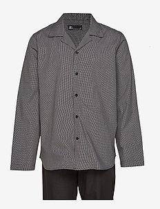 JBS pyjamas woven - BLACK