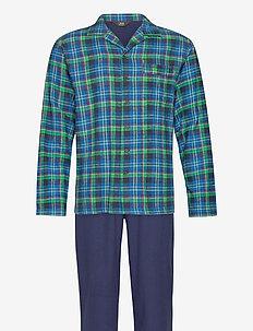 JBS pyjamas flannel - pyjamas - cafe au la