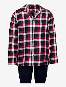 JBS pyjamas flannel - pidžaamakomplekt - flerfärgad