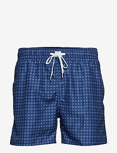 JBS swim shorts - NAVY AOP