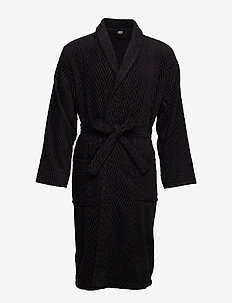JBS bathrobe - morgenkåber - black