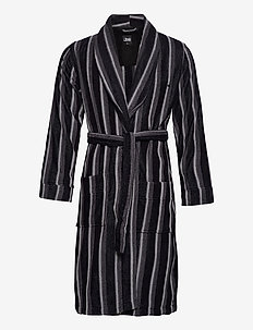 JBS bathrobe - morgonrockar - black
