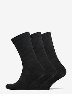 JBS socks terry sole, 3-pack - chaussettes régulières - svart
