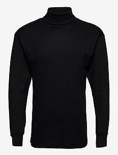 JBS turtleneck shirt - basic knitwear - svart