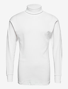 JBS turtleneck shirt - basic gebreide truien - vit