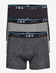JBS 3-pack tights - BLACK/GREY