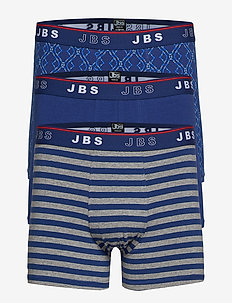 JBS 3-pack tights - NAVY AOP