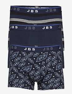 JBS 3-pack tights - boxershorts - navy/blue