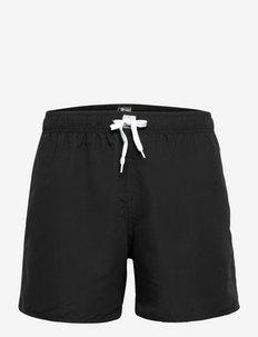 JBS swim shorts x Towel - badbyxor - svart
