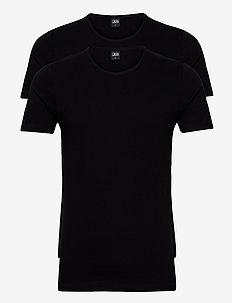 JBS 2-pack t-shirt O-neck GOTS - basis-t-skjorter - black