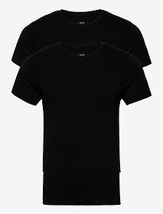 JBS 2-pack O-neck bamboo - basis-t-skjorter - black