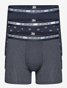 JBS, 3-pack tights bamboo Org. - boxers - flerfärgad