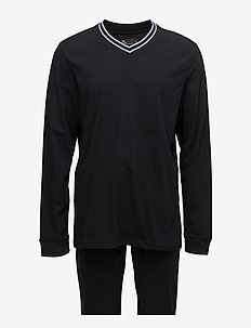 JBS Pajamas long sleeves/legs - pyjamas - black