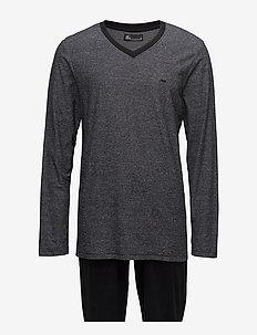 JBS pajamas, jersey - pyjamas - black