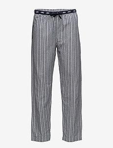JBS pajamas pants, flannel - alaosat - stripes