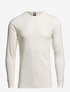 JBS, t-shirt long sleeve - WHITE