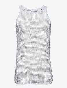 Jens Bjerg Sørensen netsinglet - basic t-shirts - white