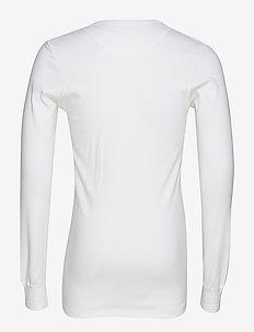 Jens Bjerg Sørensen John Wayne - long-sleeved t-shirts - white