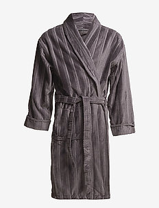 Bathrobe - morgenkåber - grey