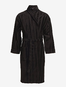 Bathrobe - morgenkåber - black