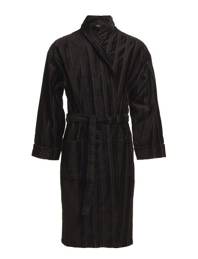 Bathrobe - BLACK