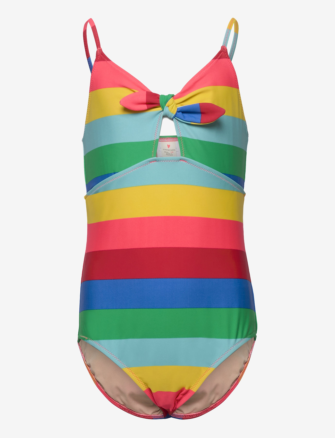 J.Crew - Tie Front Tank. - swimsuits - multi - 0