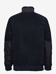 J.Crew - Nordic Sherpa Fz Jkt - basic-sweatshirts - blue - 1