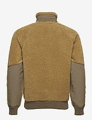 J.Crew - Nordic Sherpa Fz Jkt - basic-sweatshirts - brown - 1