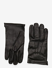 J.Crew - Leather Glove - hanskat - black - 0
