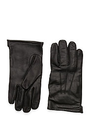 Leather Glove - BLACK
