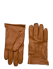 Leather Glove - BROWN