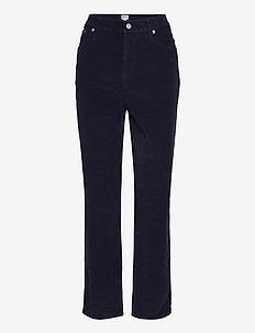 Corduroy Vintage Straight. - straight jeans - blue