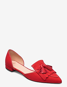 Canvas Loafer 2 Piece Harlech Flat - ballerines - red