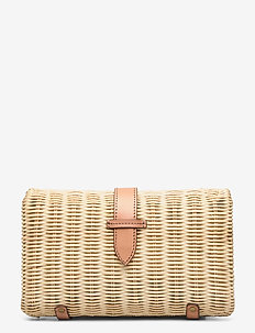 Rattan Frame Clutch - natural