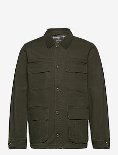 Barn Jacket - gewatteerd jassen - army green