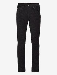 14 W Corduroy - slim jeans - black