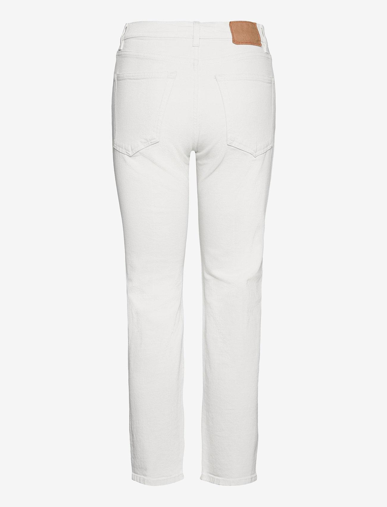 Jeanerica - CW002 - straight regular - natural white - 2