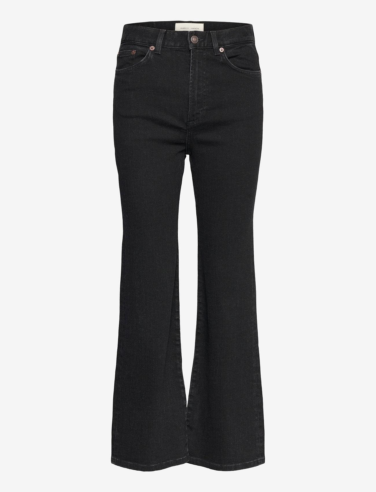Jeanerica - PW008 - jeans évasés - black 2 weeks - 1