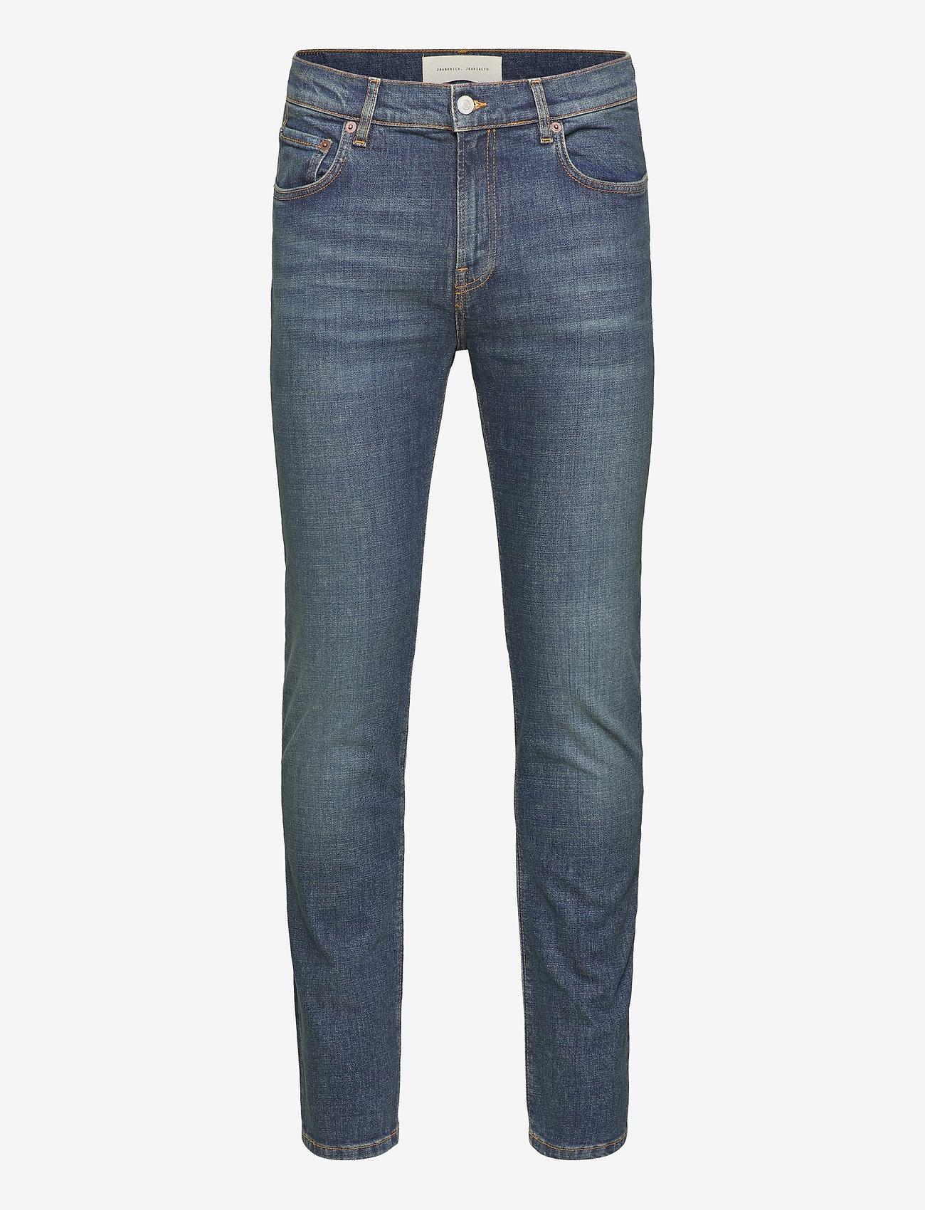 Jeanerica - SM001 - slim jeans - dark vintage - 1