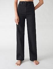 Jeanerica - PW008 - jeans évasés - black 2 weeks - 0