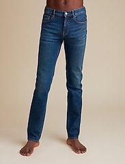 Jeanerica - SM001 - slim jeans - dark vintage - 0