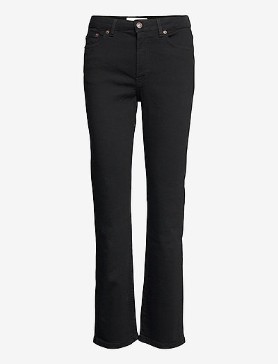 MW006 Midtown Jeans - boot cut jeans - rinse stay black