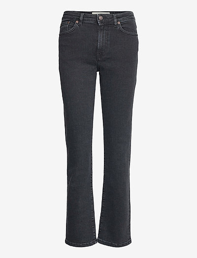 MW006 Midtown Jeans - boot cut jeans - used black