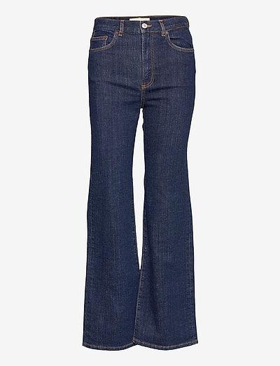 PW008 - utsvängda jeans - blue 2 weeks